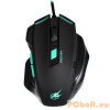 Port Port designs AROKH X-1 USB Gaming Egér - Fekete