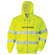 Portwest - B305 Hi Vis zippzáros pulóver (XXXL)