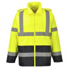 Portwest H443 - Hi-Vis Classic\nContrast esődzseki- sárga/fekete