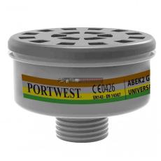 Portwest P926 - ABEK2 Gázszűrő (univerzális, 4 db)