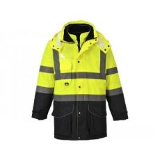 Portwest S426 - Hi-Vis 7 az 1-ben kontraszt Traffic kabát - Sárga