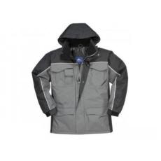 Portwest S562 - Ripstop kéttónusú kabát - fekete / szürke
