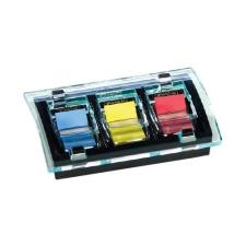 Post-it Index adagoló C2011P Millenium 680 címkével, 25×43 mm, 6×50 címke jegyzettömb