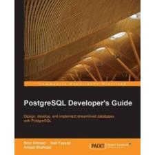 Postgresql Developer's Guide – Amjad Shahzad idegen nyelvű könyv