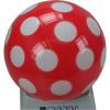 Pöttyös 280mm-es lakkfényű labda