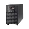 POWERWALK Power Walker UPS On-Line 1/1PHASE 1500VA, CG, PF1  USB/RS-232, 4x IEC,  EPO, LCD