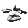 Powery Akkutöltő Sony NP-QM50