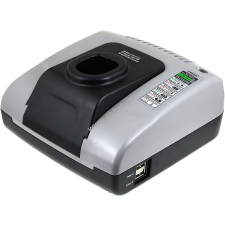 Powery akkutöltő USB kimenettel Ryobi One+ akkus halogén lámpa CFP-1801 barkácsgép akkumulátor