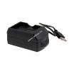 Powery Akkutöltő USB-s Yakumo típus BP8CULXBIAM1