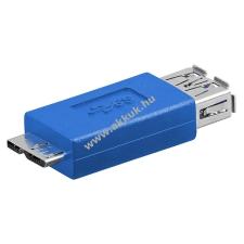 Powery Goobay USB adapter 3.0 -  A -> (micro USB) B csatlakozó kábel és adapter