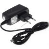 Powery töltő/adapter/tápegység micro USB 1A Blackberry Curve 8900