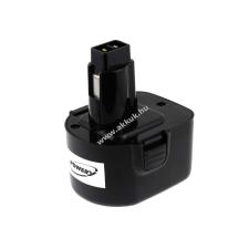 Powery Utángyártott akku Black & Decker kézi körfűrész 2883 2000mAh barkácsgép akkumulátor