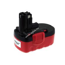 Powery Utángyártott akku Bosch szablyafűrész GSA 18VE NiCd O-Pack 2000mAh barkácsgép akkumulátor