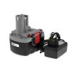 Powery Utángyártott akku Bosch típus 2607335276 O-Pack Li-Ion + töltő
