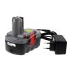 Powery Utángyártott akku Bosch típus 2607335560 O-Pack Li-Ion + töltő