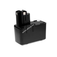 Powery Utángyártott akku Bosch ütvefúró PSB 9.6VES-2 NiCd  japán cellás barkácsgép akkumulátor