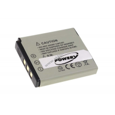 Powery Utángyártott akku digitális fényképezőgép Fuji Finepix F665EXR digitális fényképező akkumulátor