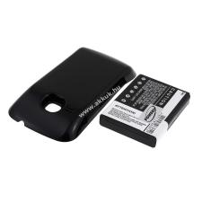 Powery Utángyártott akku Samsung GT-S6500L 2400mAh fekete pda akkumulátor