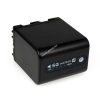Powery Utángyártott akku Sony CCD-TRV208E 4500mAh Antracit és LED kijelzős