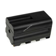 Powery Utángyártott akku Sony videokamera CCD-SC6 4600mAh sony videókamera akkumulátor