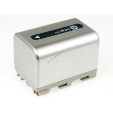 Powery Utángyártott akku Sony videokamera DCR-TRV355 3000mAh ezüst sony videókamera akkumulátor
