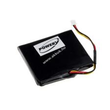 Powery Utángyártott akku TomTom 1EV5.019.03 gps akkumulátor