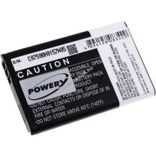Powery Utángyártott akku Vertu X mobiltelefon akkumulátor