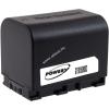 Powery Utángyártott akku videokamera JVC GZ-E105BEU 3,6V 2670mAh Li-Ion fekete (info chip-es)