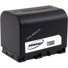 Powery Utángyártott akku videokamera JVC GZ-MS210AEK 3,6V 2670mAh Li-Ion fekete (info chip-es) jvc videókamera akkumulátor