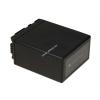 Powery Utángyártott akku videokamera Panasonic HDC-HS250 4800mAh
