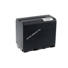 Powery Utángyártott akku videokamera Sony CCD-TRV66 6600mAh fekete sony videókamera akkumulátor