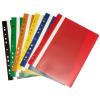 Pp Gyorsfűző lefűzhető műanyag A4 ZÖLD P+P 10db/csomag