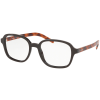Prada Luxottica PR08XV U6C1O1, 54, Barna, Anyag Műanyag, Női dioptriás szemüvegek