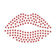 Preciosa Crystal Lips - Vasalható száj - PRECIOSA kristály matrica matrica