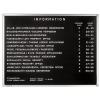 Premium információs tábla, 80x60 cm