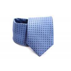 Prémium nyakkendõ - Kék kockás