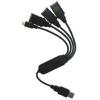 PremiumCord 4 portos kábel