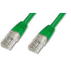 PremiumCord CAT6 UTP Patch kábel, 7 m, zöld