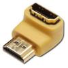 PremiumCord HDMI M -&gt, HDMI F támogatása 1080p HDTV - Bent