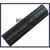 Presario CQ62-a36SF 6600 mAh 9 cella fekete notebook/laptop akku/akkumulátor utángyártott