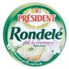 Président Rondelé sajt 100 g fokhagymás-zöldfűszeres