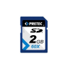 Pretec SecureDigital SD 2GB   60x HighSpeed (transzfer 9MB/s-ig)