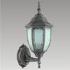 Prezent 39007 - LIDO kültéri fali lámpa 1xE27/60W fekete/arany IP33