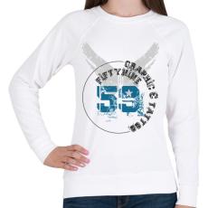 PRINTFASHION 59t&g-01.png - Női pulóver - Fehér