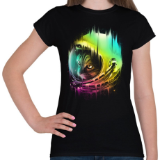 PRINTFASHION A galaxis vándora - Női póló - Fekete