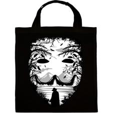 PRINTFASHION A maszk - Vérbosszú - Vászontáska - Fekete kézitáska és bőrönd