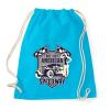 PRINTFASHION Amerikai hot rod - Sportzsák, Tornazsák - Surf blue