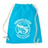 PRINTFASHION Amerikai klasszikus - Sportzsák, Tornazsák - Surf blue