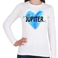 PRINTFASHION Amit szabad Jupiternek... - Női hosszú ujjú póló - Fehér
