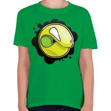 PRINTFASHION Angryball - Gyerek póló - Zöld